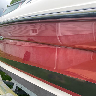 Boat Detailing / Bottom Painting after