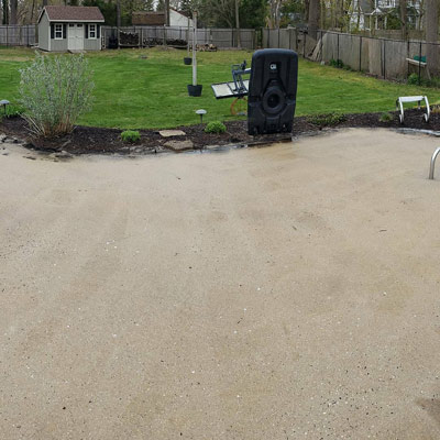 Concrete / Driveway Cleaning after